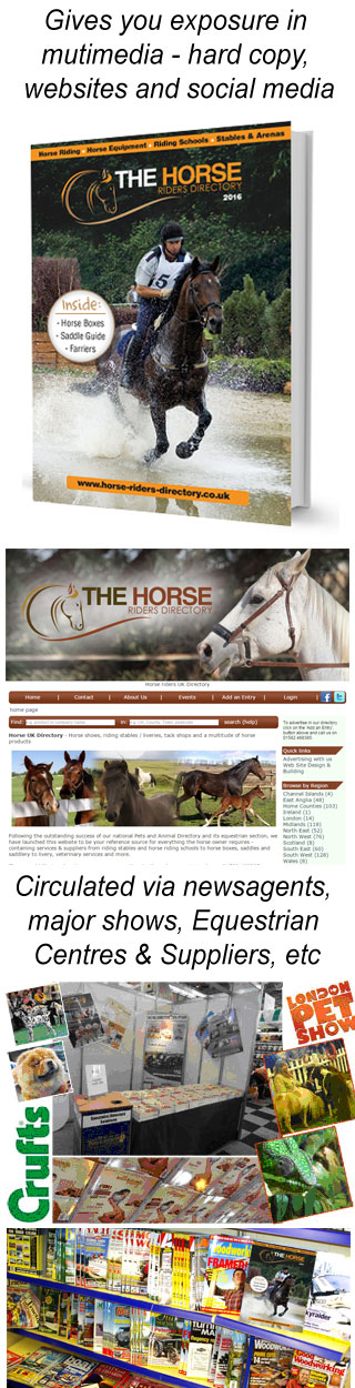 Horse Riders Directory - Advertising with us